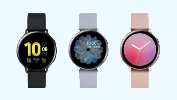 Galaxy Watch Active2 já está à venda no Brasil
