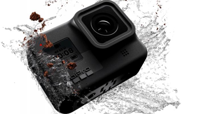 GoPro lança Hero8 Black mais estabilizada e resistente