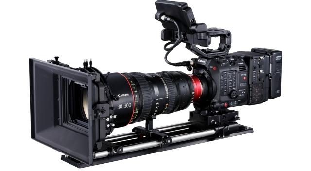 Câmera de cinema EOS C300 Mark III da Canon faz gravação em 4K