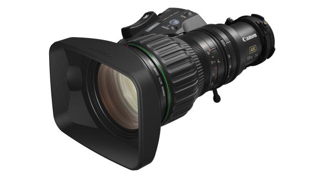 Canon lança lente de zoom portátil para câmeras broadcast 4K UHD