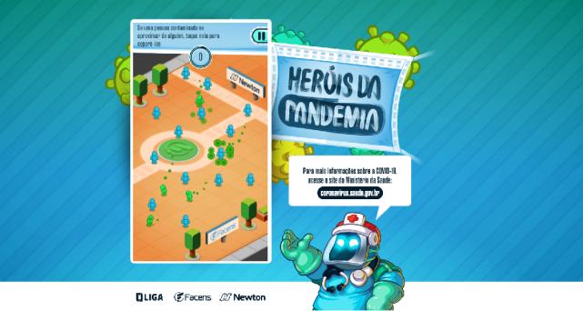Centro Universitário lança game educacional sobre novo coronavírus