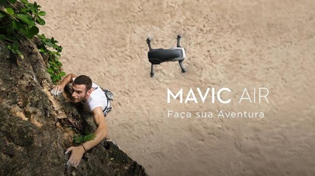Drone Mavic Air 2 traz novos recursos de câmera que dão qualidade cinematográfica aos posts