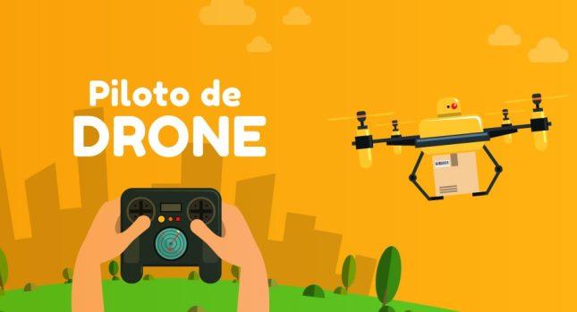 Trilhas da Quantum ensinam pilotagem de drones e pensamento computacional para crianças