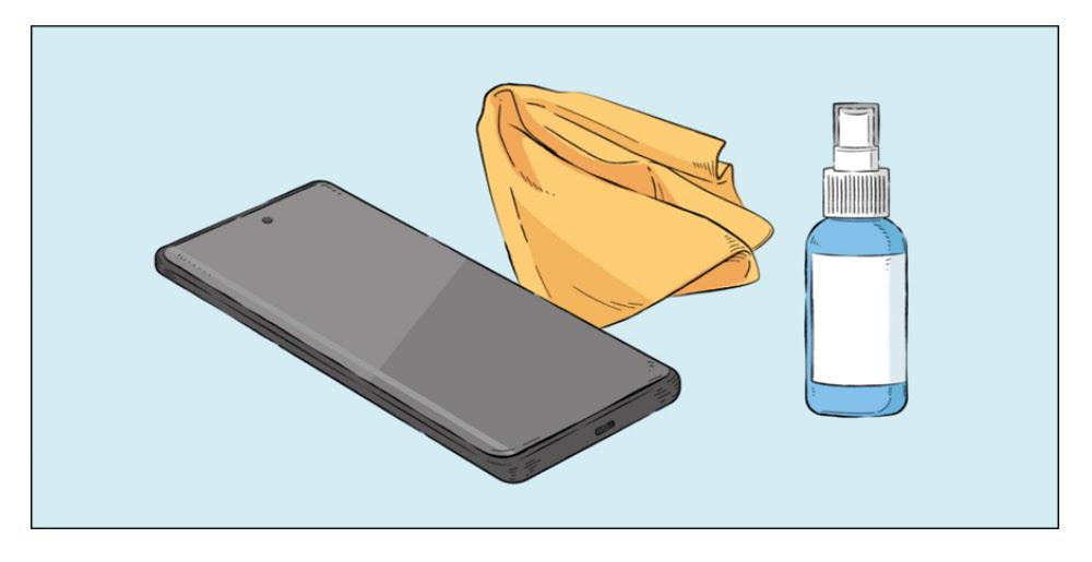 Smartphone higienizacao