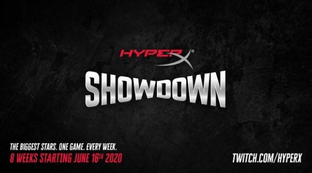Game HyperX Showdown reúne grandes personalidades dos esportes, jogos e música