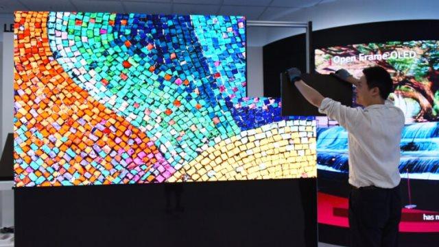 LG apresenta nova linha de painéis de LED com módulos sem fio