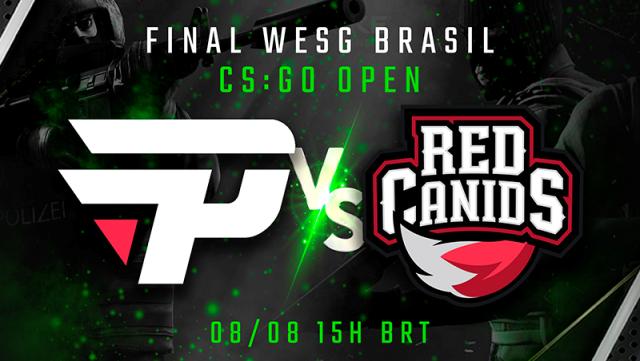 Red Canids e paiN Gaming disputam a final da etapa brasileira do WESG Latam