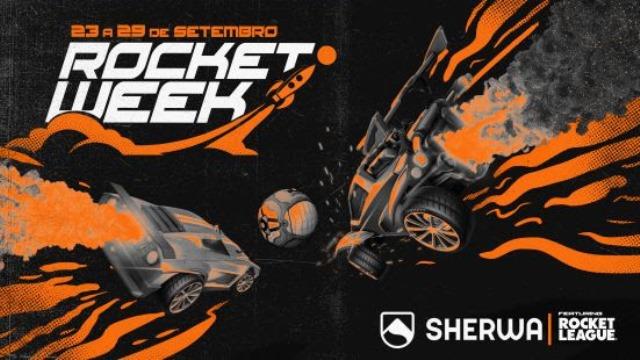 Sherwa cria evento com Rocket League para comemorar a chegada do game