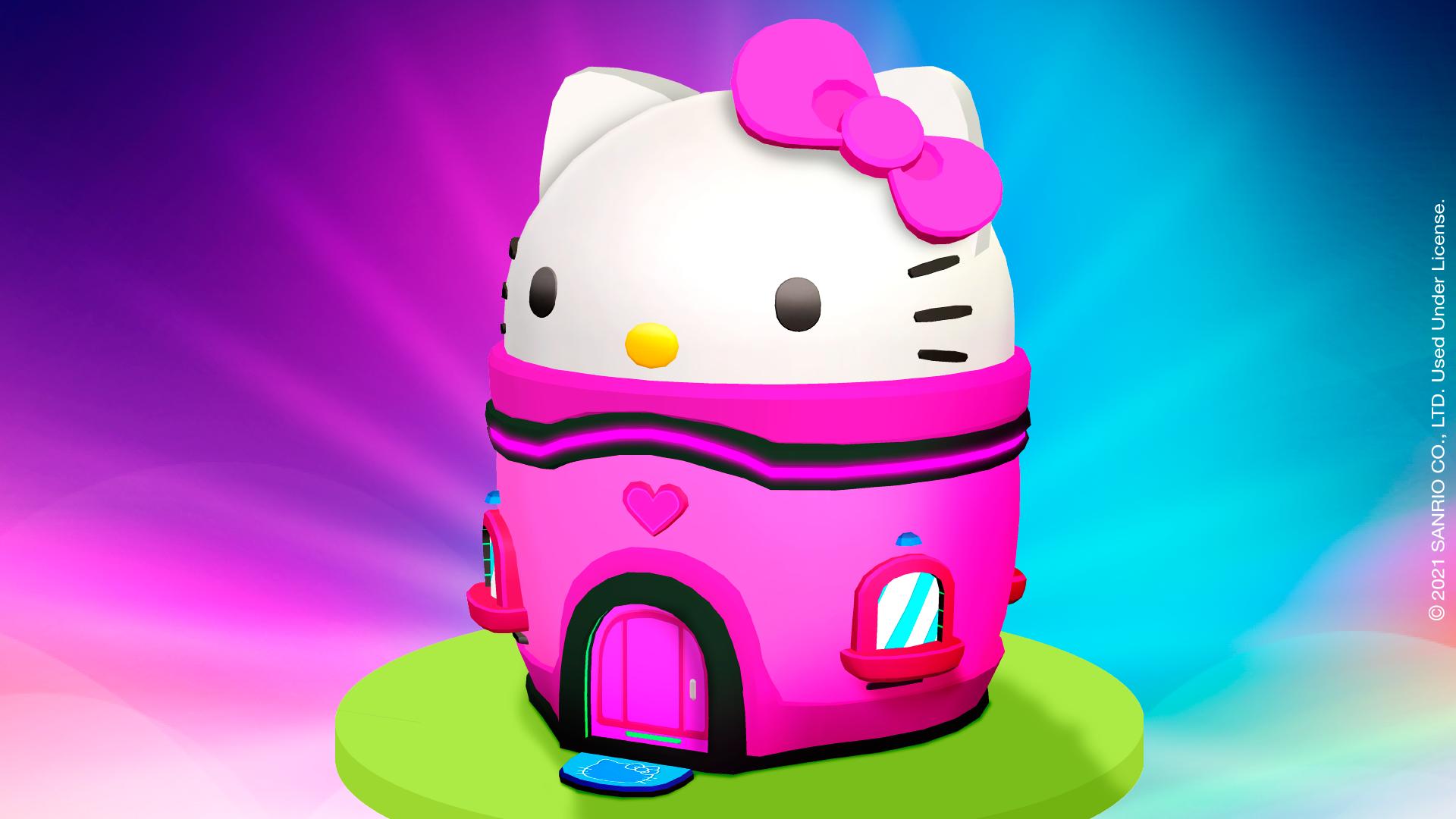 Hello Kitty ganha casa especial no universo PK XD