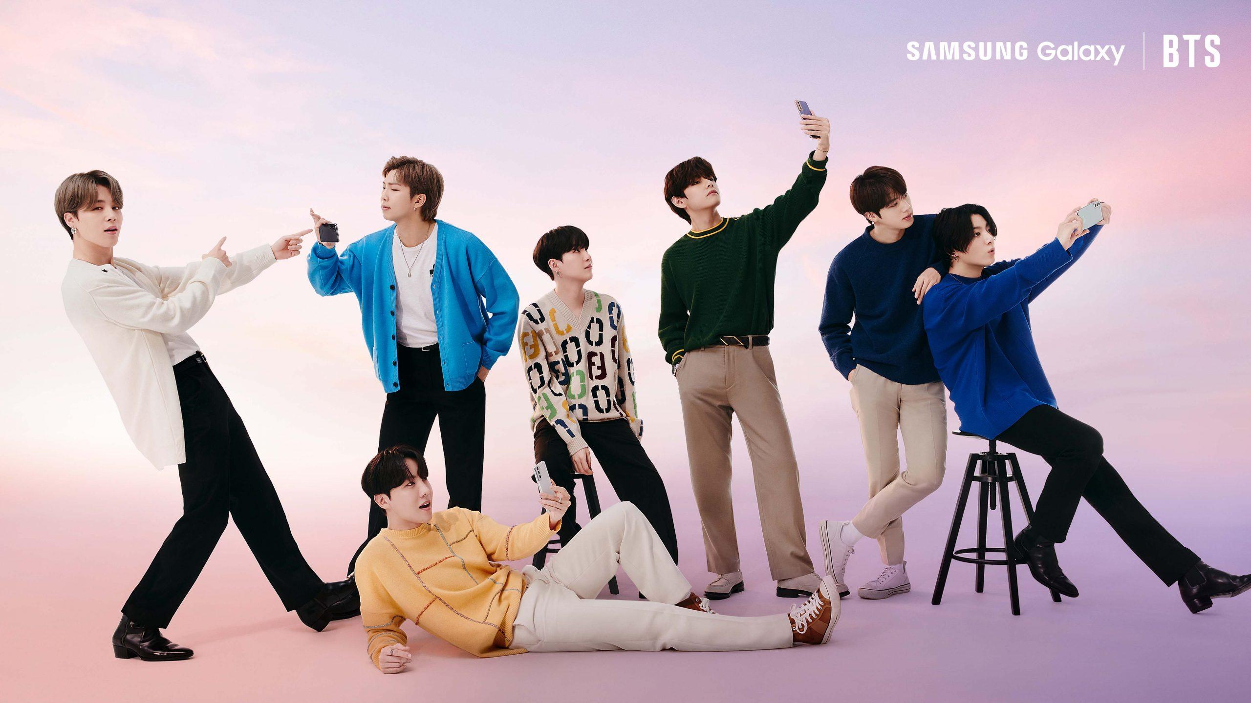 BTS divulga pré-venda da linha Galaxy S21