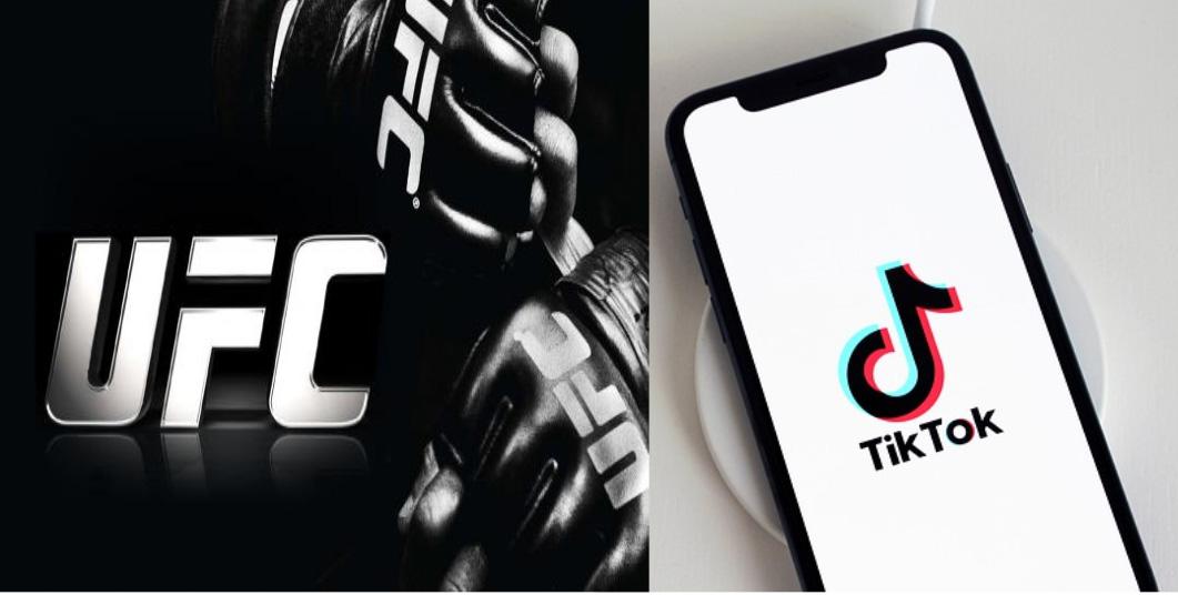UFC e TikTok fecham parceria para conteúdo ao vivo