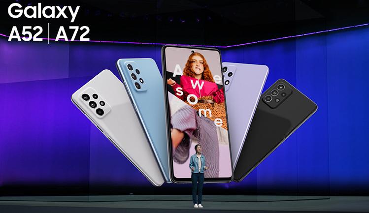 Samsung leva inovação top para novos Galaxy A