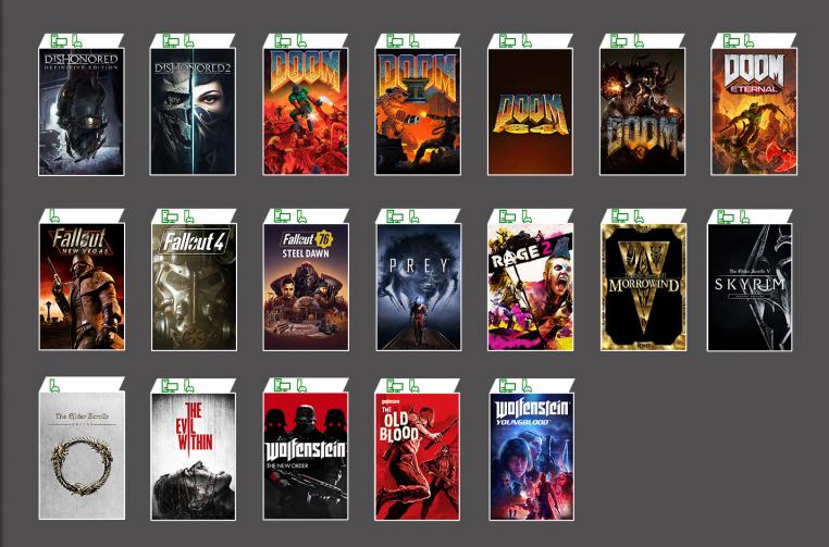 Read more about the article Jogos da Bethesda chegam ao Xbox Game Pass
