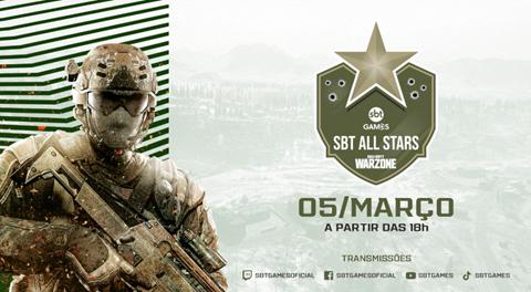 SBTGames realiza nova edição do torneio ALL STARS