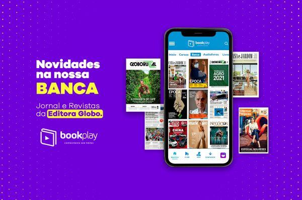 Bookplay oferece conteúdos da Editora Globo
