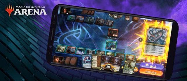 Magic: The Gathering Arena está disponível para celulares
