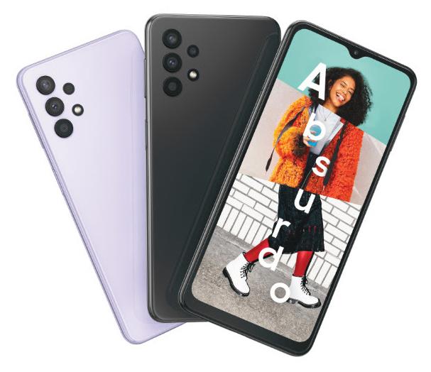 Galaxy A02 e Galaxy A32 5G chegam ao mercado