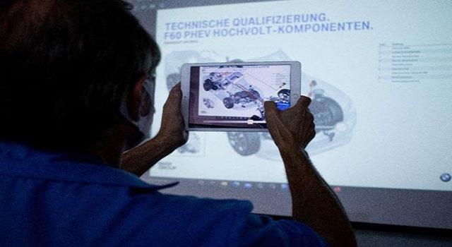 AcademiaBMWGroup Brasil SENAI-SP oferece treinamentos com RA