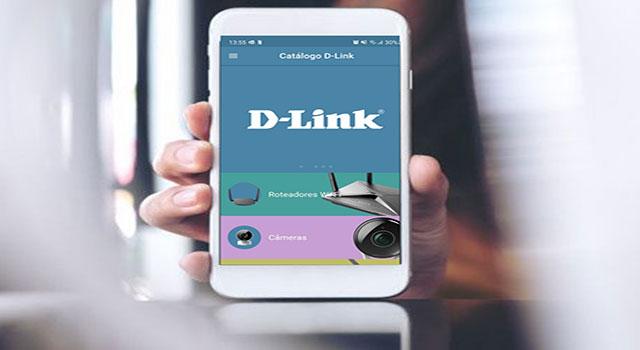 Aplicativo da D-Link reúne catálogo de produtos no Brasil