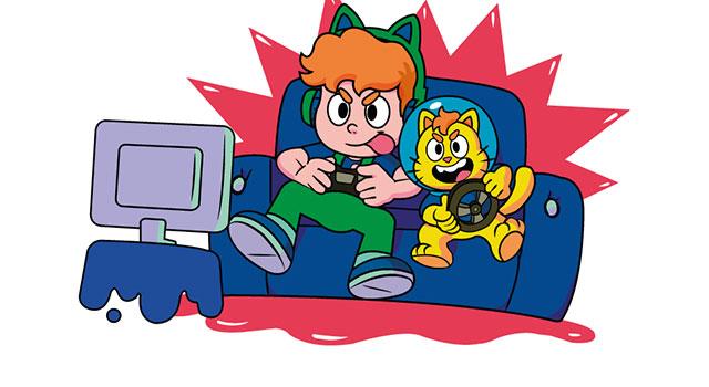 GatoGaláctico lança canal dedicado a games