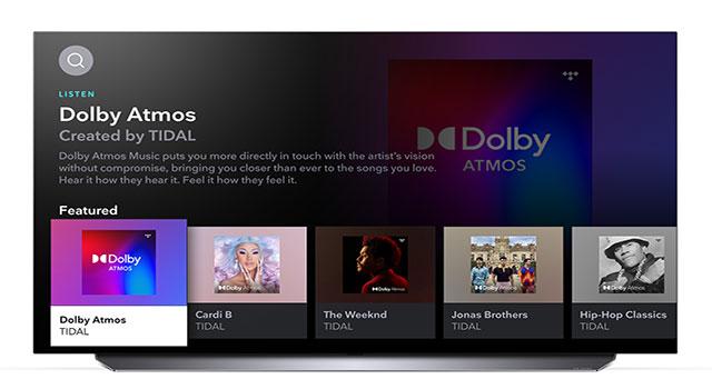 TIDAL, streaming de música e entretenimento, chega aos usuários de TVs LG