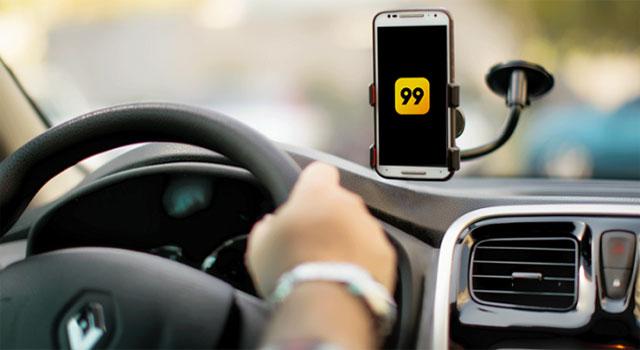 App 99 utiliza inteligência artificial para proteger passageiras