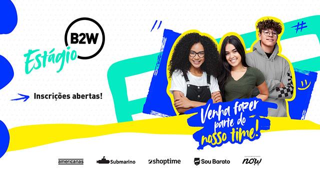 Read more about the article B2W Digital lança Programa de Estágio 2021