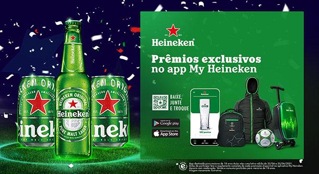 Heineken apresenta aplicativo para interagir com seus consumidores