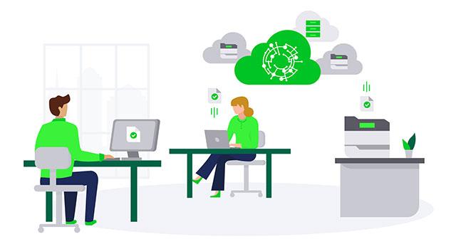 Lexmarkapresenta pacote de conectividade Cloud Bridge