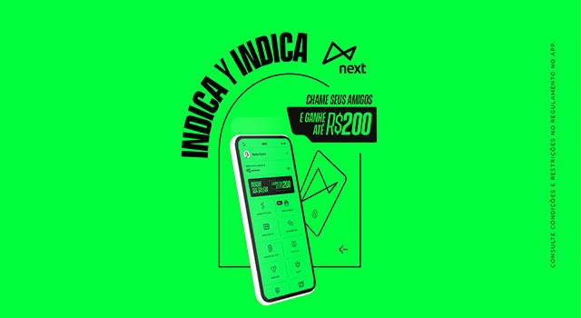 """Read more about the article Banco digital nextlança função """"Indique Amigos"""""""