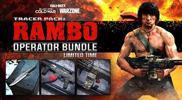 Rambo e John McClane invadem franquiaCall of Duty