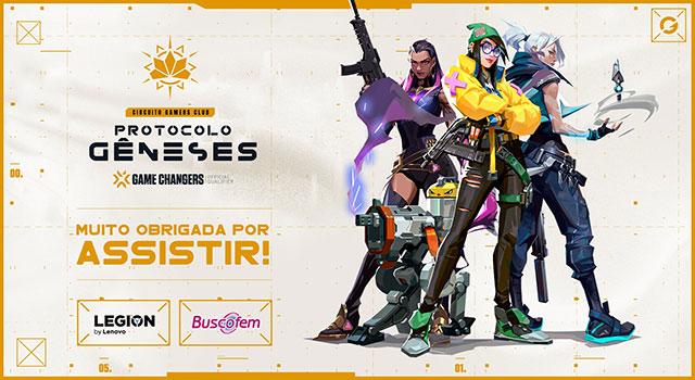 Circuito Gamers Club de Valorant tem novos patrocinadores