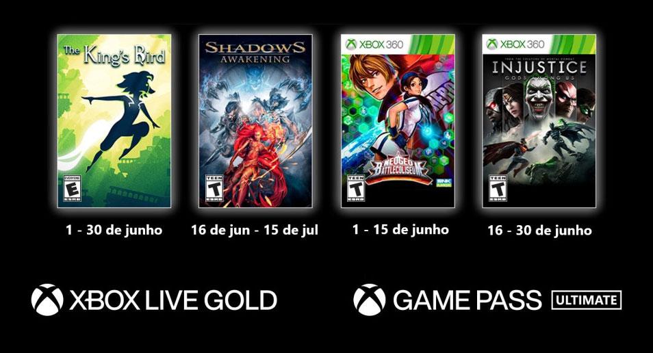 Read more about the article Confira a lista do Game with Gold para junho no Xbox
