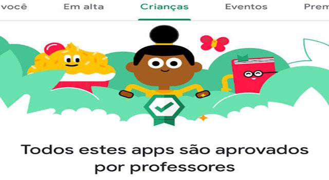 Read more about the article Google Play lança página com aplicativos e jogos infantis