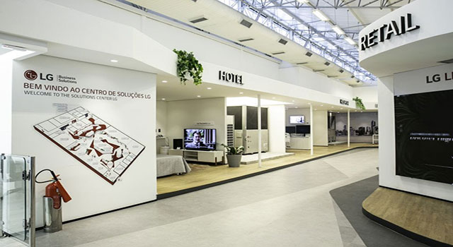 Read more about the article LG Electronics inaugura o LG Business Solutions Center