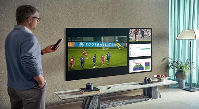 Como usar a função Multitela nas TVs Samsung