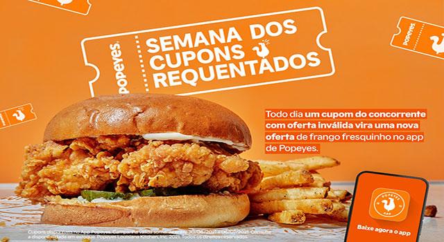 Read more about the article Rede Popeyes lança aplicativo próprio