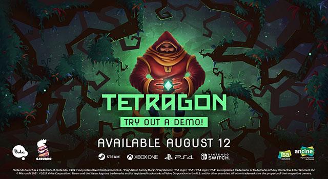 Read more about the article Tetragon, puzzle game de criação nacional apresenta versão demo