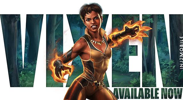 Read more about the article Vixen é novo personagem do Injustice 2 Mobile