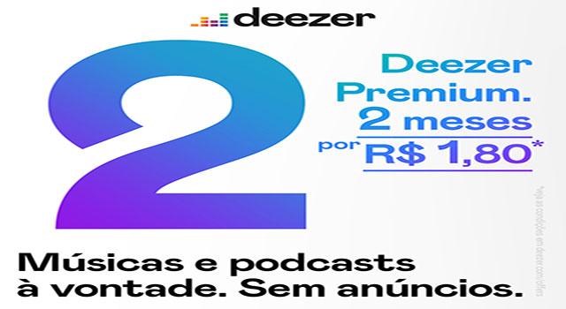 Read more about the article Deezer anuncia promoção em planos