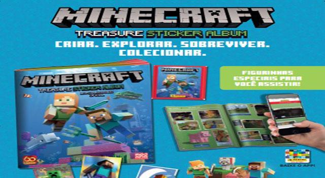 Read more about the article Minecraft vira álbum de figurinhas interativo