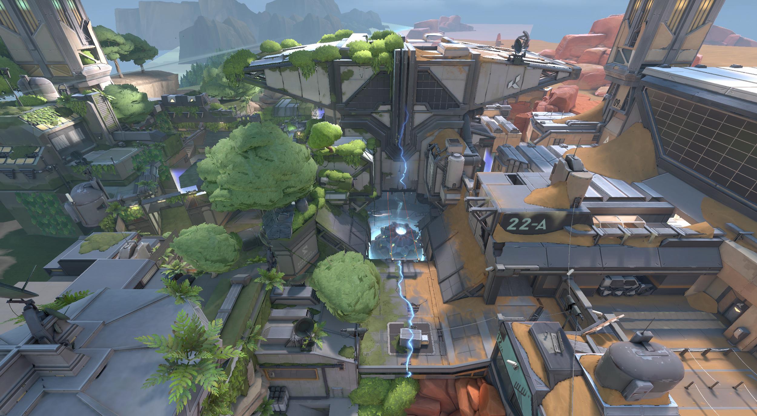 Read more about the article Riot Games revela Fracture, novo mapa de VALORANT