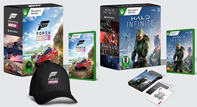 Read more about the article Xbox BR lança packs exclusivos de Halo Infinite e Forza Horizon 5