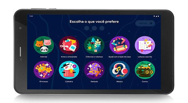 Read more about the article Google Kids Space oferece nova experiência em tablet